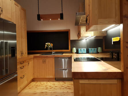 Nazareth Joinery timber kitchen